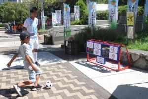 NPOフェスタ2019_ミニサッカー教室